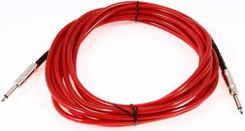 Fender 18 Ft. California Clear Cable, Candy Apple Red by Fender. $11.80. New and improved California Cables are here! Fender has the right cable for the job in a variety of vintage colors. Available in 10' & 18' lengths with a limited lifetime warranty. Quality cables at an affordable price!. Save 34% Off!
