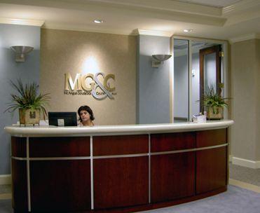 simple office reception design awesome modern reception desks