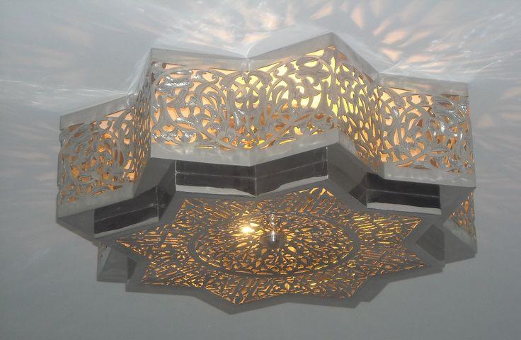 Pompei Luxury Moroccan Semi Flush Morocain Copper Design