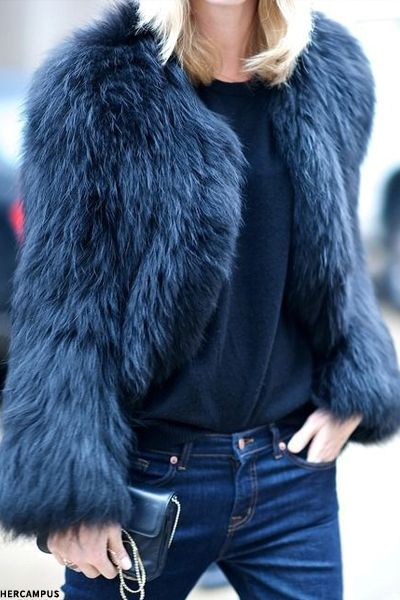 chic in faux fur