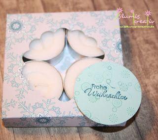 Blumis kreativ Blog: Teelicht Schachtel mit dem Envelope Punch Board - Anleitung