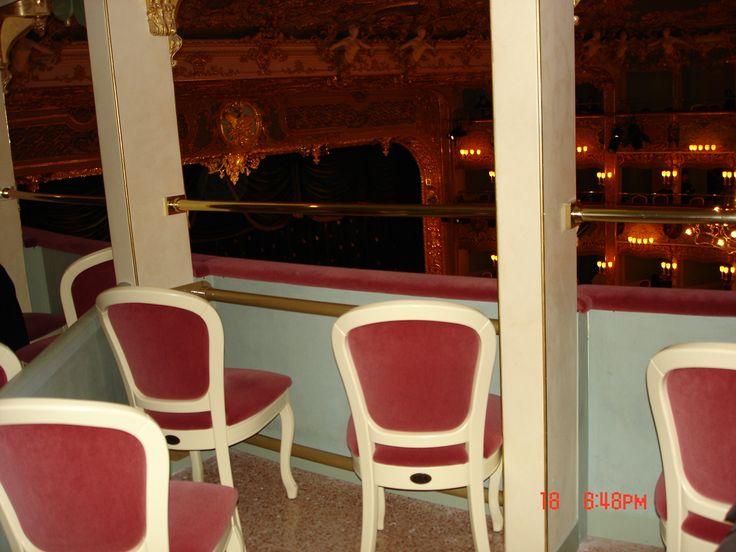 Loge. Teatro La Fenice, Venice. Photo: Lillemor Brink