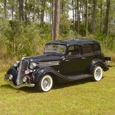 1935 Hudson Terraplane -perfect fenders, great grill slant, all suicide doors...sigh...might be short, but haven't seen one in person to know.