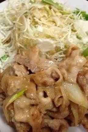 絶品!タモリさんオススメ! 豚の生姜焼きの画像