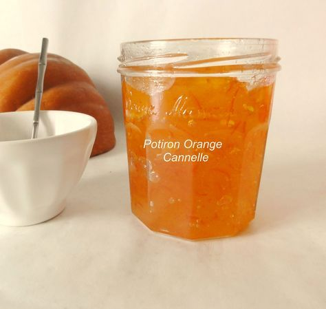 Confiture potiron orange cannelle