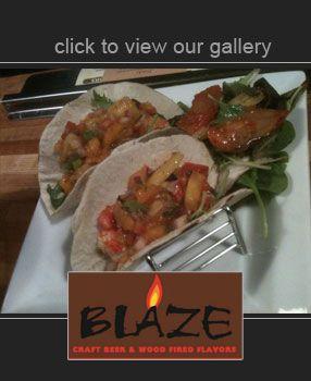 Blaze in Bar Harbor, Maine. BEST Bloody Maria in New England!