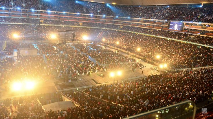 Africa's Biggest Football Stadium Was Packed for Pastor Chris's Night of Bliss
