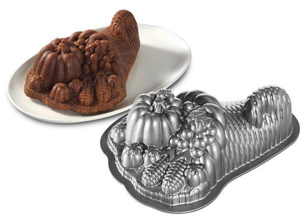 Nordicware Pro Form Bakeware Cornucopia Cake Pan Cake