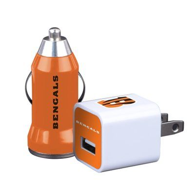Cincinnati Bengals 2-Pack Home and Away Charger