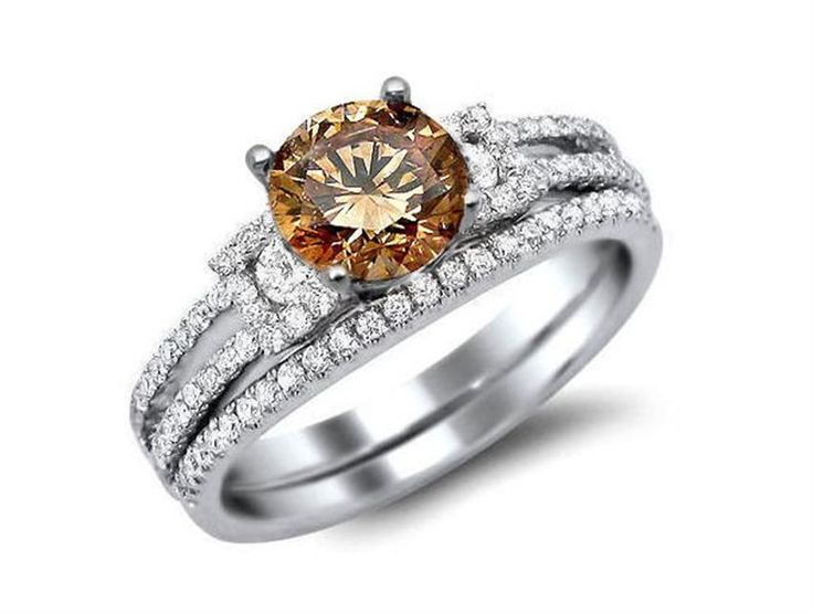 images of chocolate diamonds wedding sets google search - Chocolate Diamond Wedding Ring Sets