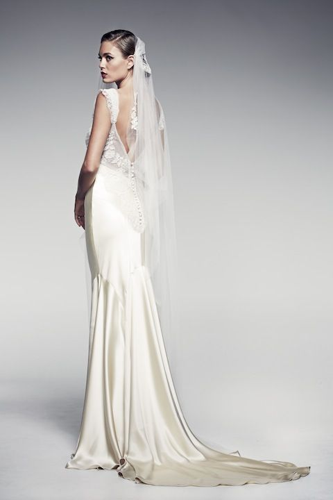 Edeline by Pallas Couture | via http://pallascouture.com