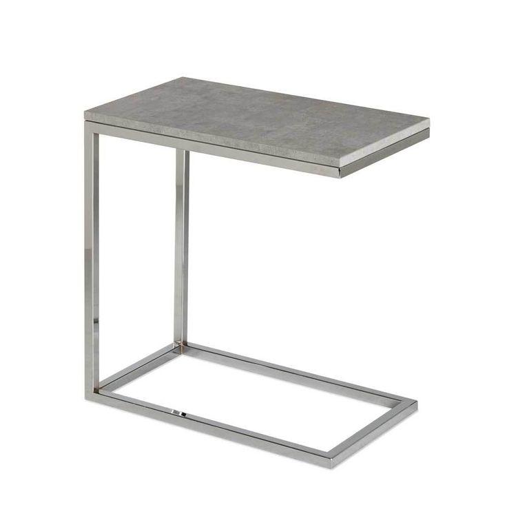 Ablagetisch In Grau Beton Optik Stahl Jetzt Bestellen Unter: Https://moebel.