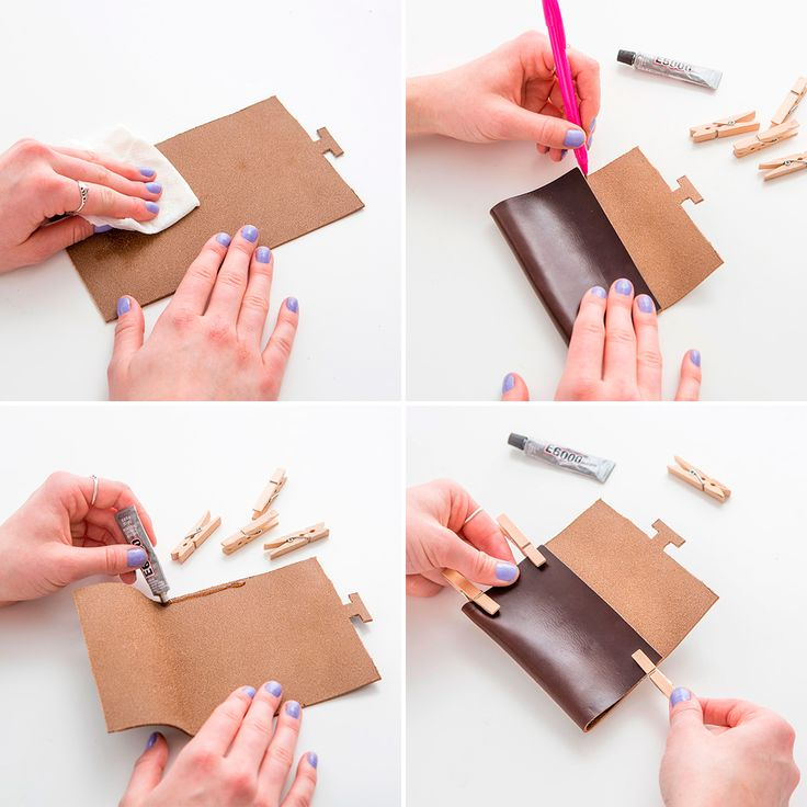 Follow this tutorial to create a leather business card holder.