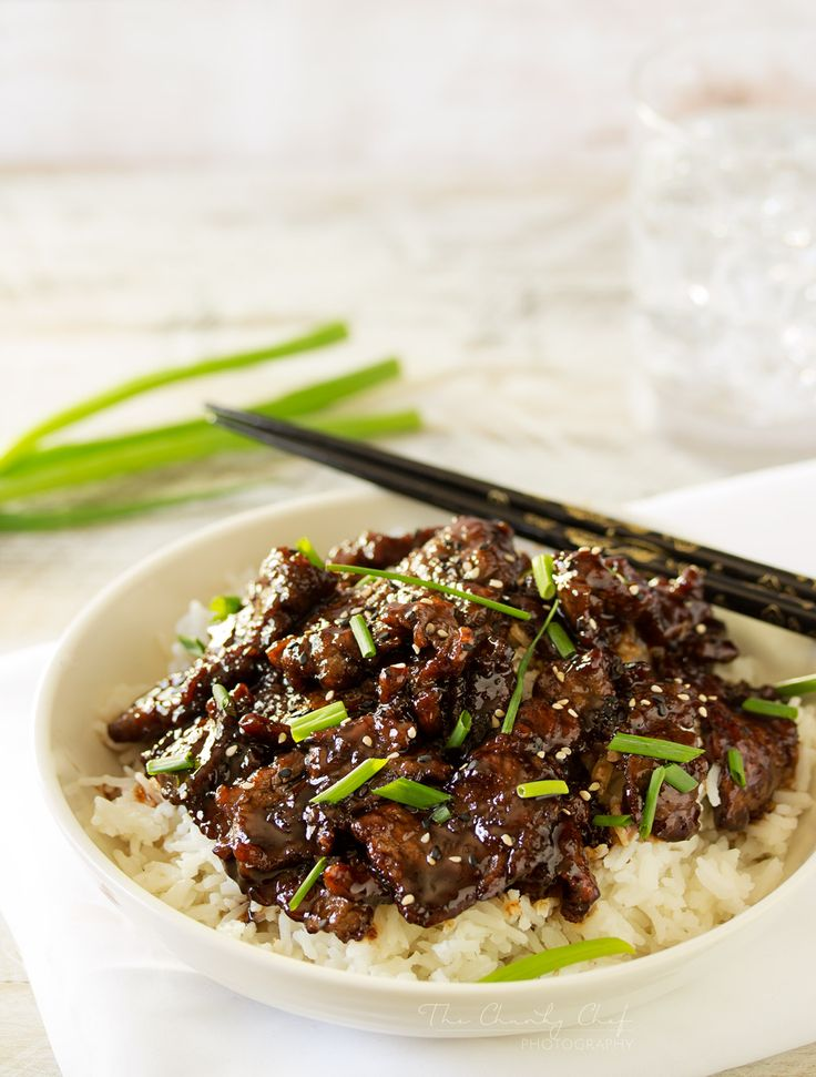 Mongolian Beef | Mongolian beef is such a classic and delicious Asian dish... and easy to make at home! In just 30 minutes you'll have an incredible meal! | http://thechunkychef.com