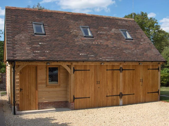 Oak Framed Garages in Oxfordshire, Hampshire, Berkshire and Buckinghamshire