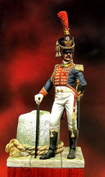 Officer of the Navy Guard - Naple's Kingdom 1811-15