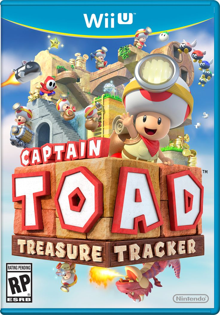 Toad will finally be promoted to a full game in Captain Toad Treasure Tracker for #WiiU