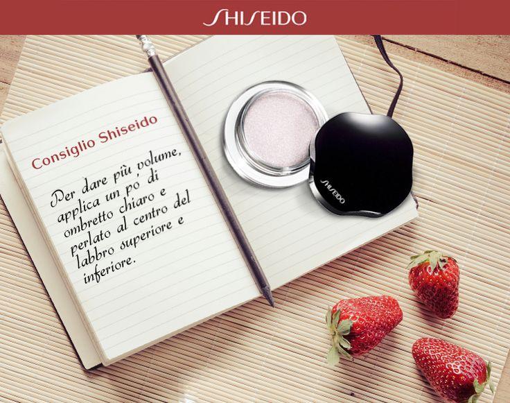 Hai #labbra fini? #Shiseido #makeup www.shiseido.it