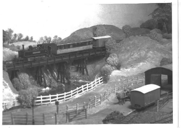 Midd Valley Railway, an 00n3 layout built c. 1965 -1971