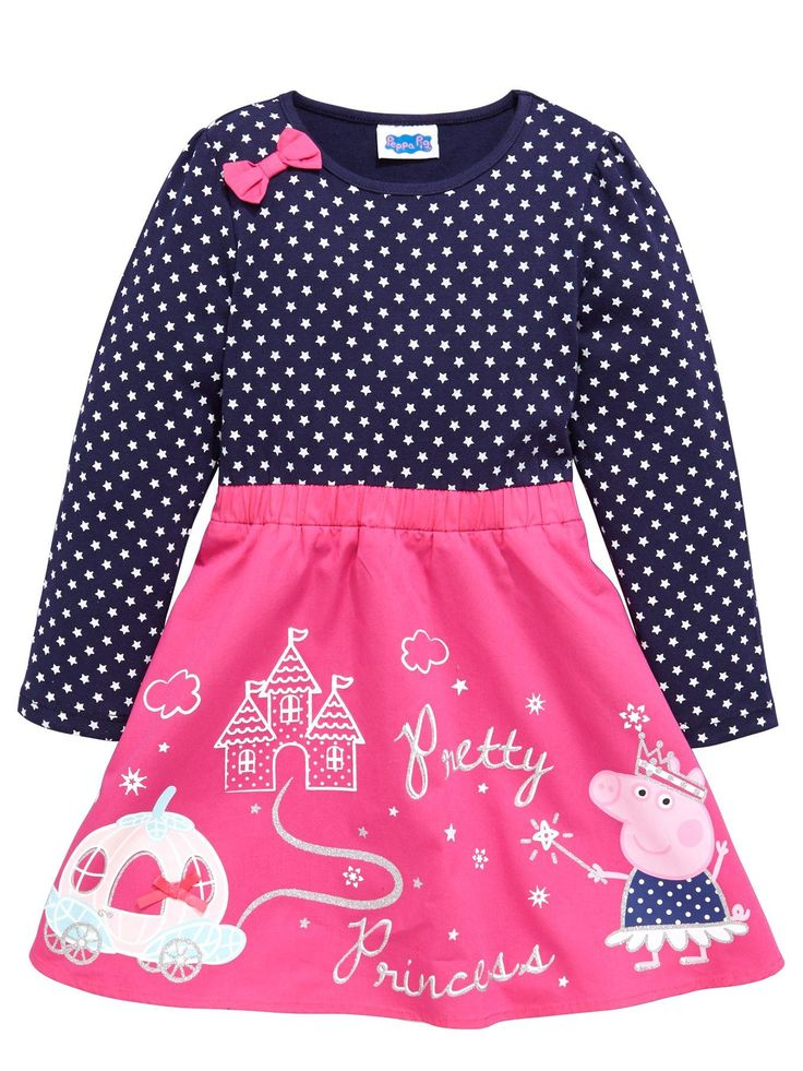 Peppa Pig Peppa Pig Girls Party Dress | very.co.uk