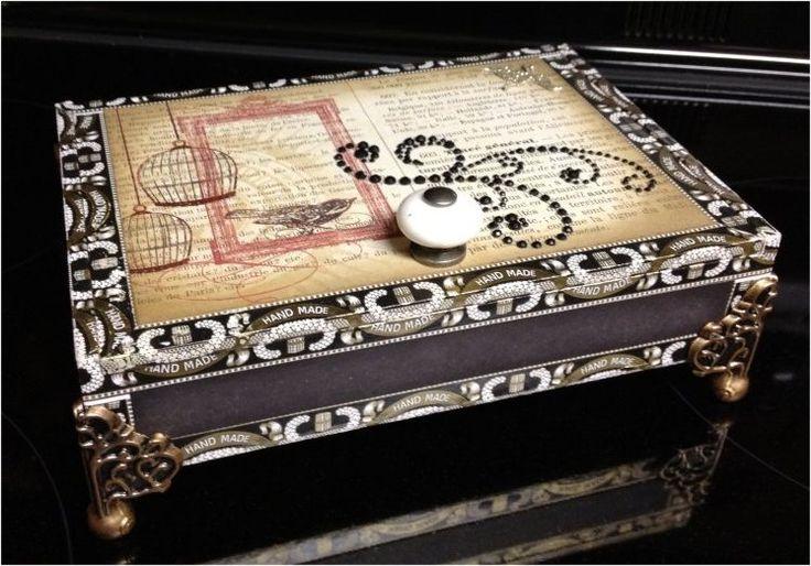 Paper, Paws, etc.: Cigar Box