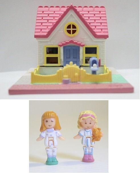 Polly Pocket Cozy Cottage '93 COMPLETE by FHKsamadsStashes on Etsy, $25.00