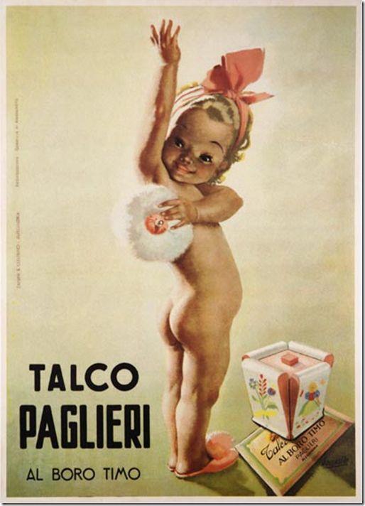 """""""Talco Paglieri""""   Gino Boccasile – 1950"""