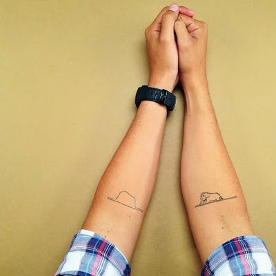 Marry me? The Little Prince: tattoo
