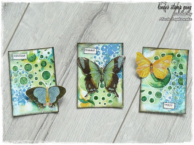 Serenity ATC Cards Tutorial By Marta Lapkowska