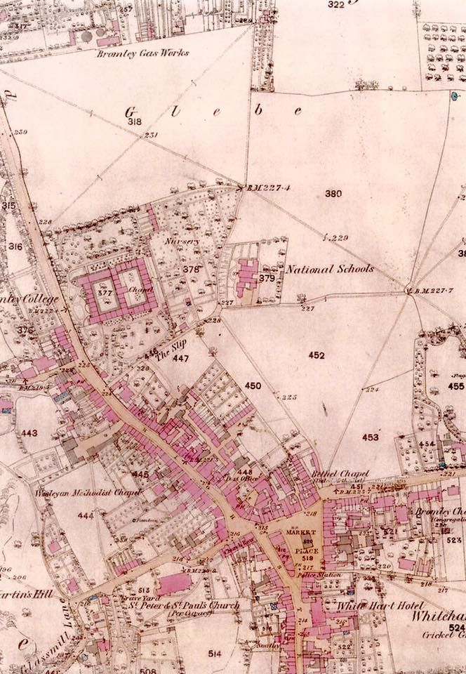 Map of Bromley 1863