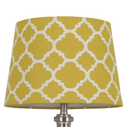 Threshold™ Flocked Ogee Lamp Shade