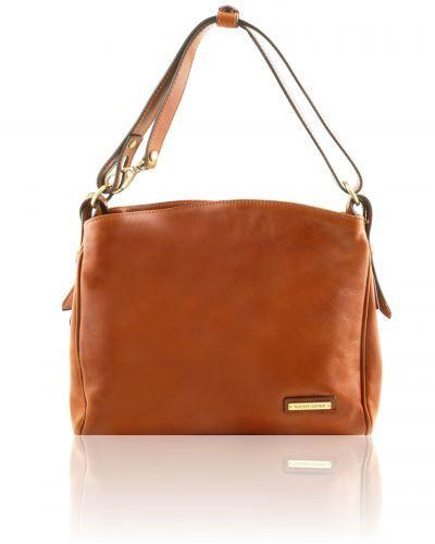 SARA TL141474 Leather shoulder bag