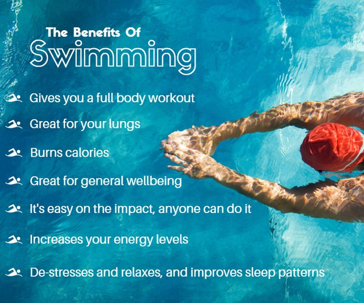 Heres just some of the amazing benefits of swimming