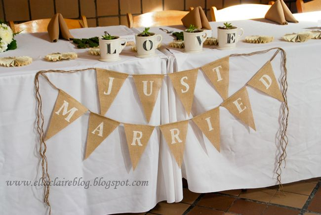 {Ella Claire}: A pretty sweet and simple wedding. touch of vintage