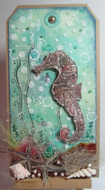 Under the Sea DT piece for Fashionable Stamping Challenges
