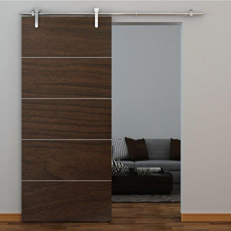 Everbilt Stainless Steel Decorative Sliding Door Hardware 14455 The Home Depot Sliding Doors Interior Mahogany Doors Interior Glass Doors Interior
