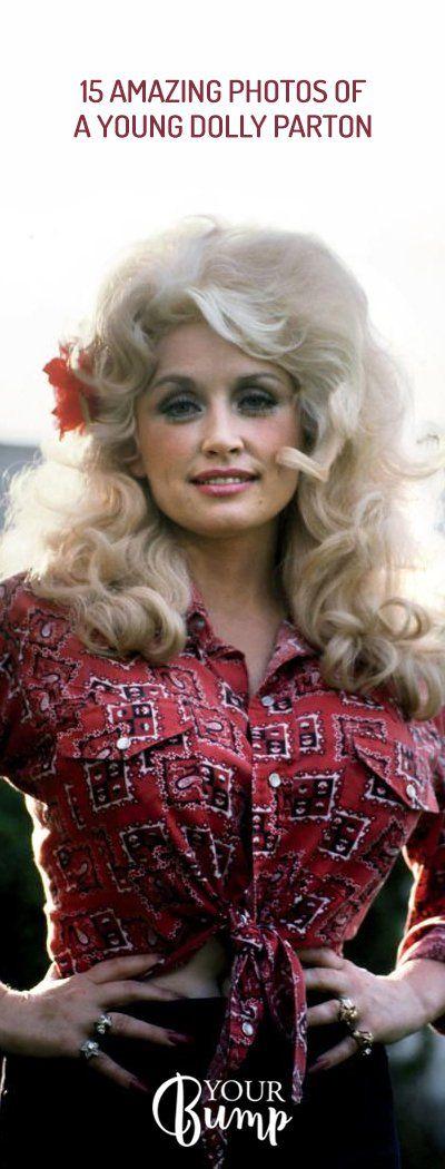 15 Amazing Photos of a Young Dolly Parton