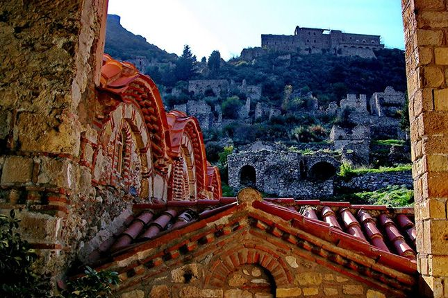 Mystras, The Castle Town with a stop in Sparta