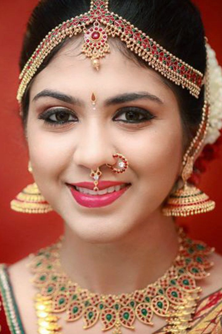South Indian Bridal With Traditional Jewellery