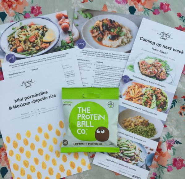 Thanks again to the team at @mindfulchefuk for including us in their healthy recipe box last week. Who spotted us in there?