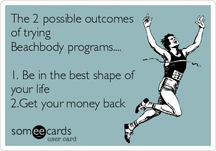 Let me help you be successful with Beachbody programs.