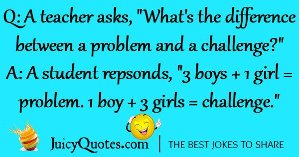 boy and girl joke of the day