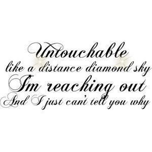 Untouchable -Taylor Swift