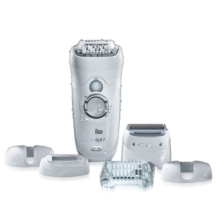 Personal Edge : Braun SE7561 Silk-épil 7 Epilator/Shaver Wet/Dry Rechargeable
