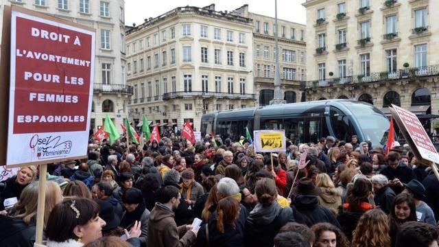 La Stampa - Madrid invasa Sfila la marcia per l'aborto