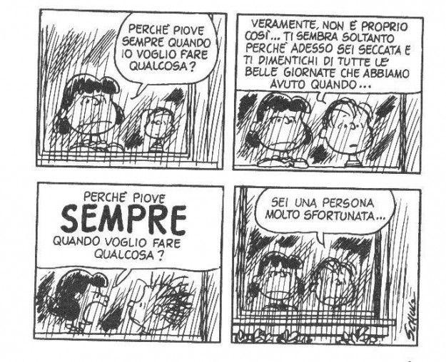 Vignette dei Peanuts