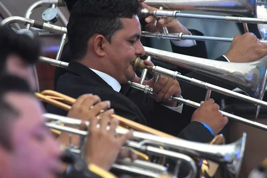La manifestaciones culturales cómo la #música, tienen un espacio importante en la #capitaldevida. El parque Sagrado Corazón es un gran escenario para diferentes espectáculos.