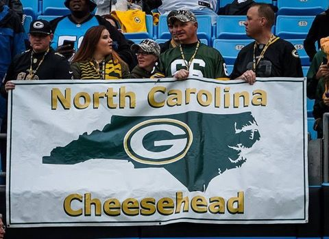 The North Carolina Cheesehead Banner Has Been Replaced -- Well, that's a huge relief. The Carolina Panthers have reportedly replaced the banner that was ripped from Packers fan Mike Dobs' hands by Cam Newton.