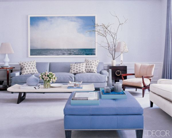 Contemporary Living Room From Elle Decor Artful
