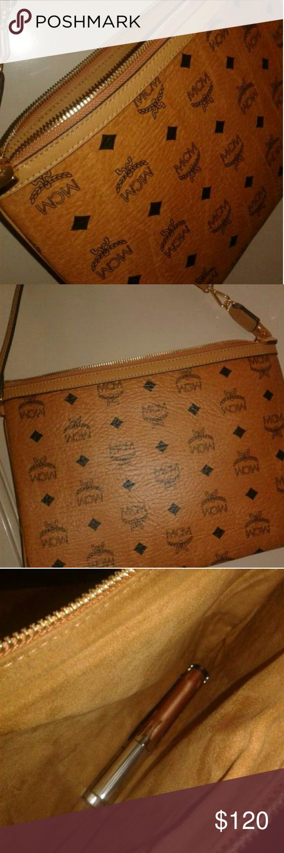 MCM CLUTCH Never used #authentic MCM Accessories